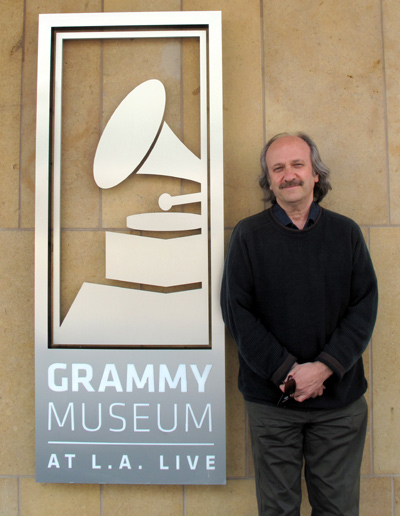 Barry Ollman Outside the Grammy Museum