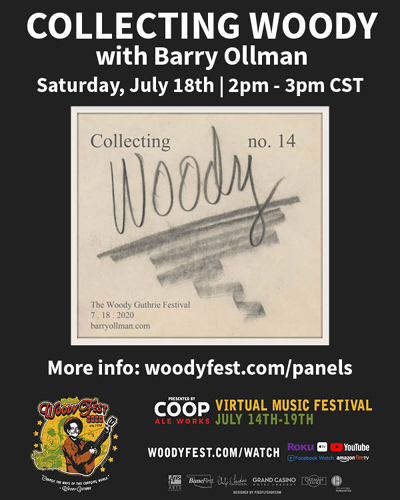 Virtual WoodyFest Panels - Barry Ollman - Collecting Woody