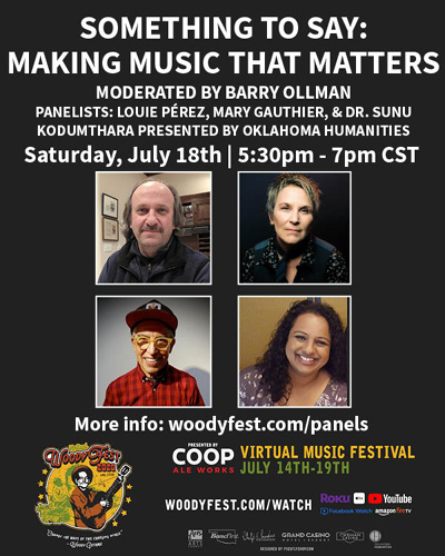 Virtual WoodyFest Panels - Something To Say